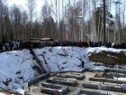 Освящение закладного камня Дома Милосердия на праздник Благовещения 7 апреля 2003 года